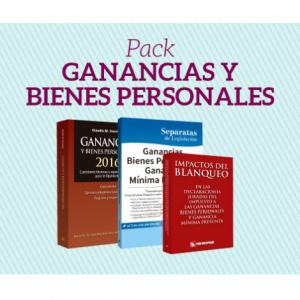 Pack Ganancias y Bienes Personales 2016 Errepar