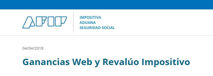"""""""Ganancias Personas Humanas"""" y """"Revalúo Impositivo"""""""