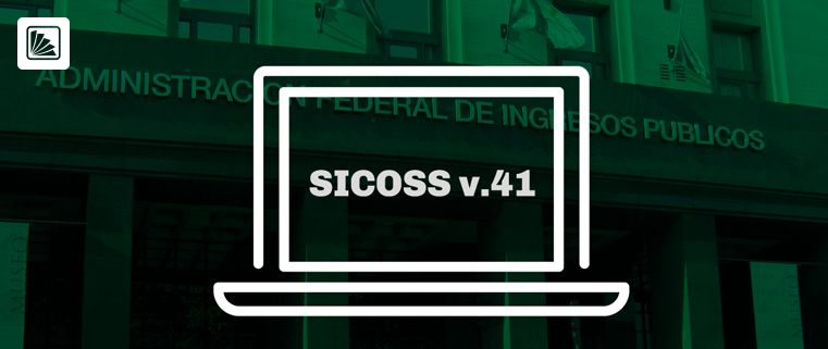 sicorss - realese 3 - version 41 - afip - pagos