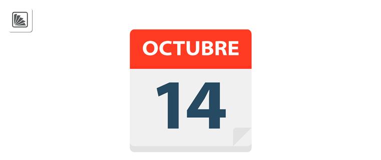 ¿El lunes 14 de octubre es feriado? ¿Se traslada el feriado del sábado 12 de octubre al lunes 14?
