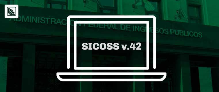 AFIP. Nuevo release del aplicativo SICOSS con novedades sobre nuevos códigos de actividad  y detracción para empresas del sector salud
