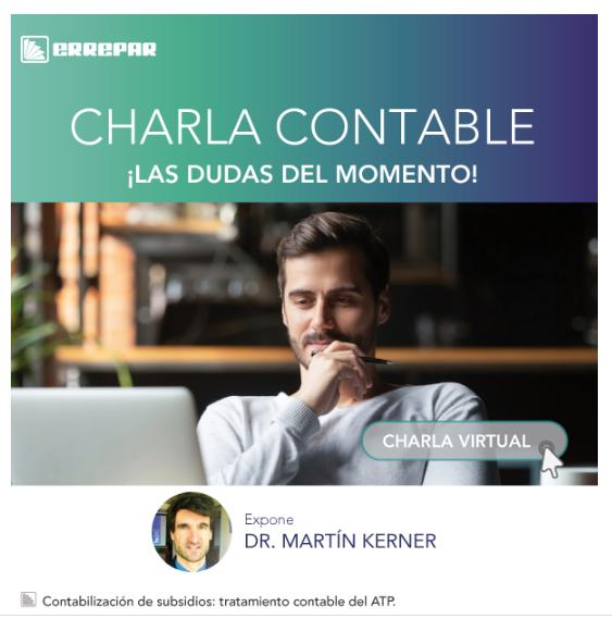 CHARLA CONTABLE MARTÍN KERNER