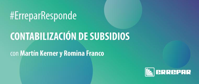 contabilización de subsidios ATP